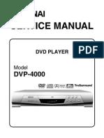 DVP-4000 Service Manual