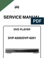 Dvp-6200 6201 (e61j3ed j4bd) Service Manual
