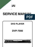 DVP-7000 (E6D20ED) Service Manual