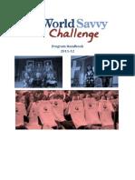 World Savvy Challenge Program Handbook 2011-12