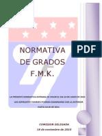 Normativa Examen de Cinturon Negro FMK