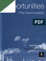 Opportunities (2004) Pre-Intermediate TB