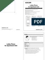 KLP 104 Manual