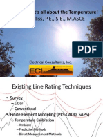 Line Rating - It's All About the Temperature