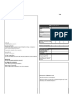 Investor Fact Sheets Template