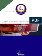CATIA Certified Professional Exams