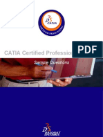 CATIA Certified Professional Exams