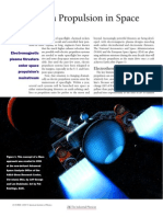 Plasma Propultion in Space