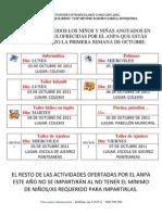 Ramiro Sabell 2011-2012 Actividades Extraescolares Impart Id As