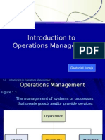 Operations Mgt