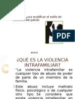 VIOLENCIA INTRAFAMILIAR.PERLIUX