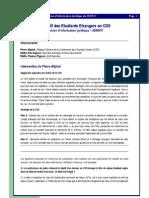 Compte rendu de la Réunion d'Information Juridique du 28/09/11
