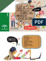 Guía de derechos y responsabilidades de las familias andaluzas en educacuónsecundaria