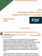 Presentacion CSS Posicionamiento