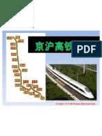 Beijing to Shanghai High Speed Rail