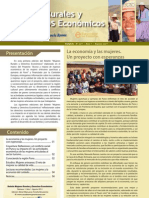 Boletín Mujeres Rurales y Derechos Económicos (Año 1, Nº1, 2011)