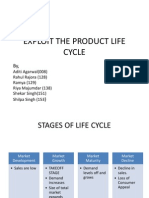 Exploit the Product Life Cycle - Group 7 (m1)