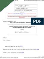 Midland Funding LLC v Tagliafferro (2011 NY Slip Op 21344)