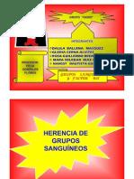 HERENCIA DE GRUPOS SANGUÍNEOS - copia [Modo de compatibilidad]
