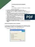 Manual de Instalacion SAPO Windows