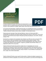 A Historia Ambiental Paulista