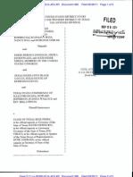 Perez v Texas Sept 29 2011 Order