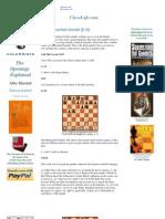 Artigos-blumenfeld Gambit e10