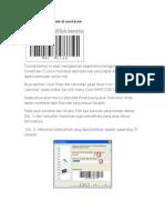 Cara Membuat Barcode Di Corel Draw