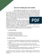 Sitajakhala the Teething Pain and Remidies