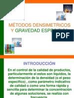 Clase Metodos Densimetricos y Grav.