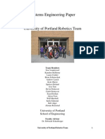 University of Portland Systems Engineering Paper