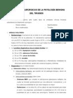 Comisión Qx Endocrino-Indicaciones Quirúrgicas de La Patología Benigna Del Tiroides (6!10!07)Soria-Nuria