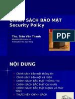 Chuong 3- Chính sách bảo mật