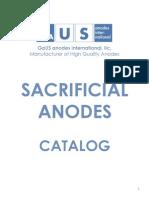 GaUS Sacrificial Anodes Catalog