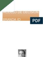 Modelo de Decision Brandaid