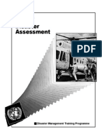Disaster Assessment - Dmtp