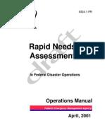 Rapid Needs Assessment - Fema