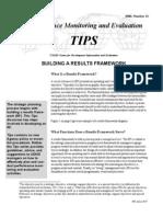 Building a Results Framework