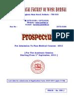 Prospectus 2011 Para Medical Course