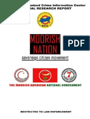 ROCIC Moorish Nation | Identity Document | Gang