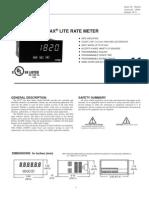 Paxlr000 Manual