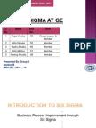 Six Sgma at GE