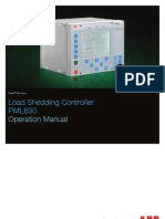 Load Shedding Controller Operation Manual