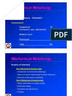 00_Introduction to Mechaical Metallurgy Course