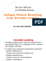 Fatigue Failure Resulting From Variable Loading 1-2
