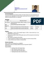 Resume With Poto