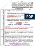 111001-Mr Robert Clark Attorney-general - Complaint - Details Requested - Etc-supplement