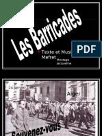 Alger Les Barricades