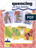 Sequencing - Cut and Paste Activities