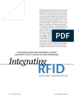 Integrating RFID